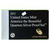 2011 SILVER PROOF QUARTER SET