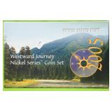 WESTWARD JOURNEY SET W BOX PAPERS