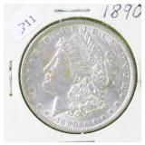 1890 MORGAN DOLLAR XF