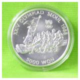 S KOREA SILVER 5000 WON