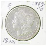 1889 O MORGAN DOLLAR VG