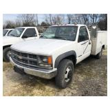 1994 CHEVY 3500 UTILITY TRUCK