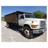 1996 FORD F800 DUMP BED