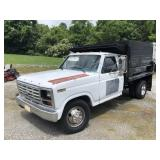 1982 FORD F-350 DUMP BED TRUCK