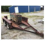 CAR HAULER WITH WELDER BILL OF SALE ONLY