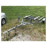 2003 DOUBLE JET SKI TRAILER BILL OF SALE ONLY