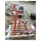 BARREL DOLLY AND RACK
