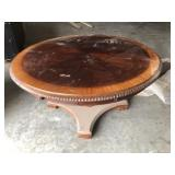 ROUND BANDED TOP TABLE
