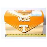 UT trunk style jewelry/trinket box
