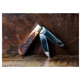 Parker Bullet Stag Cut Etch Japan