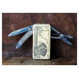 Frost Money Clip Utility Knife 15-447 Lab Dog