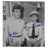 """""""JIM NABORS AND DON KNOTTS"""" AUTOGRAPHED PHOTO AS"""