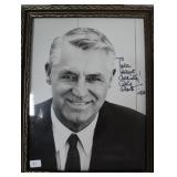 """""""CARY GRANT"""" AUTOGRAPHED PHOTO PERSONALIZED TO"""