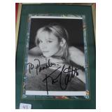 """""""KIM CATTRALL"""" AUTOGRAPHED PHOTO PERSONALIZED TO"""