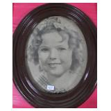 """""""SHIRLEY TEMPLE"""" PHOTOGRAPH - FRAMED - NOT SIGNED"""