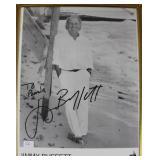 """""""JIMMY BUFFETT"""" AUTOGRAPHED PHOTO PERSONALIZED TO"""