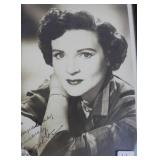 """""""BETTY WHITE"""" AUTOGRAPHED PHOTO PERSONALIZED TO"""