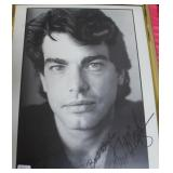 """""""PETER GALLAGHER"""" AUTOGRAPHED PHOTO"""