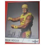 """HULK HOGAN"" AUTOGRAPHED PHOTO"