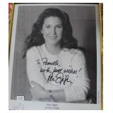 """""""PERI GILPIN"""" AUTOGRPAHED PHOTO PERSONALIZED TO"""