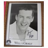 """""""SEAN HAYES"""" AUTOGRAPHED PHOTO"""