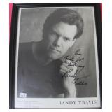 """RANDY TRAVIS"" AUTOGRAPHED PHOTO"