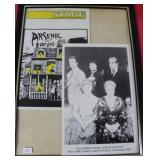 """""""GARY SANDY"""" AUTOGRAPHED PLAY BILL ARSENIC AND"""