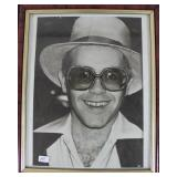 """ELTON JOHN"" AUTOGRAPHED PHOTO PERSONALIZED TO"