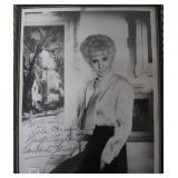 """""""BARBARA STANWYCK"""" AUTOGRAPHED PHOTO PERSONALIZED"""