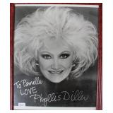 """""""PHYLLIS DILLER"""" AUTOGRAPHED PHOTO PERSONALIZED"""