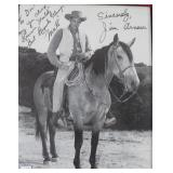 """""""JIM ARNESS"""" AUTOGRAPHED PHOTO PERSONALIZED TO"""