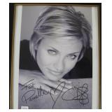 """""""CAMERON DIAZ"""" AUTOGRAPHED PHOTO PERSONALIZED TO"""
