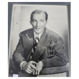 """""""BING CROSBY"""" AUTOGRAPHED PHOTO"""