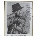"""""""CHUCK MANGIONE"""" AUTOGRAPHED PHOTO PERSONALIZED"""