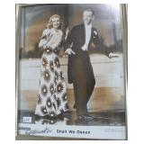 PHOTOGRAPH OF FRED ASTAIRE AND GINGER ROGERS IN