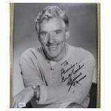 """""""DENNIS FARINA"""" AUTOGRAPHED PHOTO PERSONALIZED TO"""