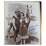 """""""ROY ROGERS AND DALE EVANS"""" AUTOGRAPHED PHOTO"""