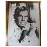 """""""LEE MARVIN"""" AUTOGRAPHED PHOTO"""