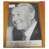 """""""MAURICE CHEVALIER"""" AUTOGRAPHED PHOTO"""
