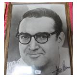 """""""STEVE ALLEN"""" AUTOGRAPHED PHOTO PERSONALIZED TO"""