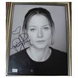 """""""JODIE FOSTER"""" AUTOGRAPHED PHOTO"""