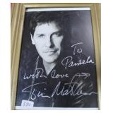 """""""TIM MATHESON"""" AUTOGRAPHED PHOTO PERSONALIZED TO"""