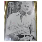 """""""LESLIE NIELSON"""" AUTOGRAPHED PHOTO PERSONALIZED"""