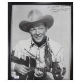 """""""ROY ROGERS"""" AUTOGRAPHED PHOTO"""