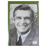 """""""GEORGE PEPPARD"""" AUTOGRAPHED PHOTO"""