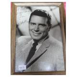 """""""JOHN FORSYTHE"""" AUTOGRAPHED PHOTO PERSONALIZED TO"""