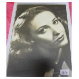 """""""LARAINE DAY"""" AUTOGRAPHED PHOTO PERSONALIZED TO"""