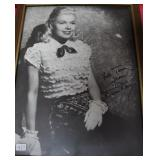 """""""DORIS DAY"""" AUTOGRAPHED PHOTO PERSONALIZED TO"""