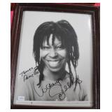 """""""WHOOPIE GOLDBERG"""" AUTOGRAPHED PHOTO PERSONALIZED"""