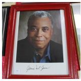 """JAMES EARL JONES"" AUTOGRAPHED PHOTO"